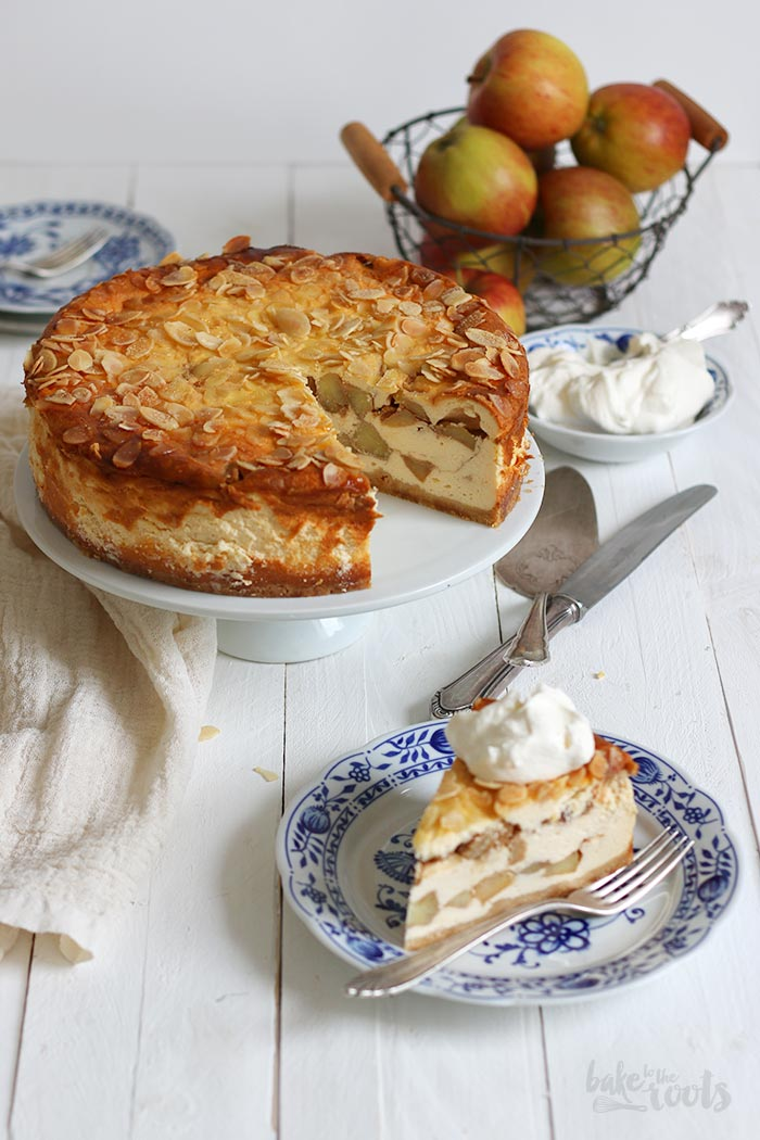 German Apple Cheesecake | Bake to the roots