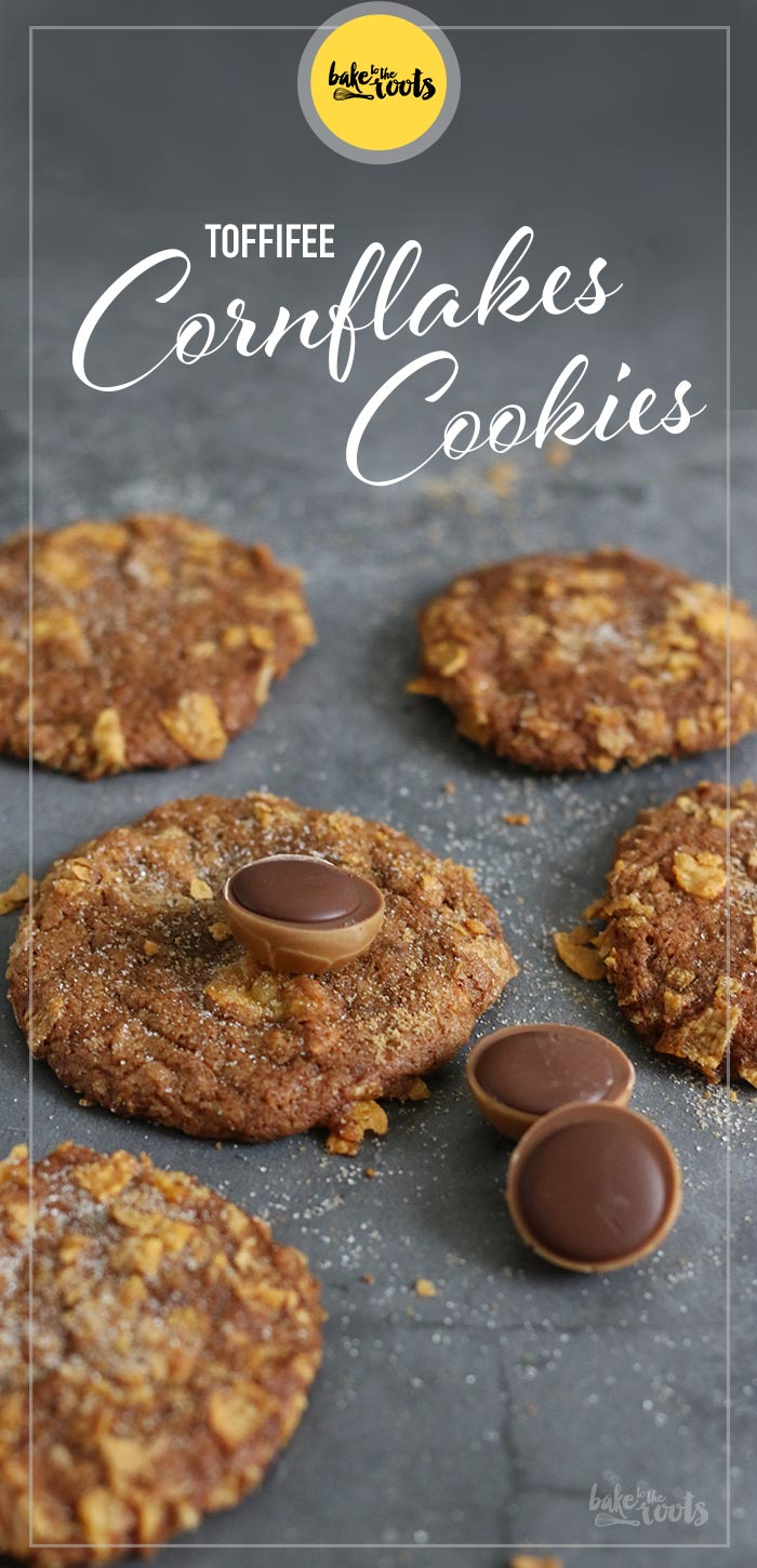 Toffifee Cornflakes Cookies | Bake to the roots