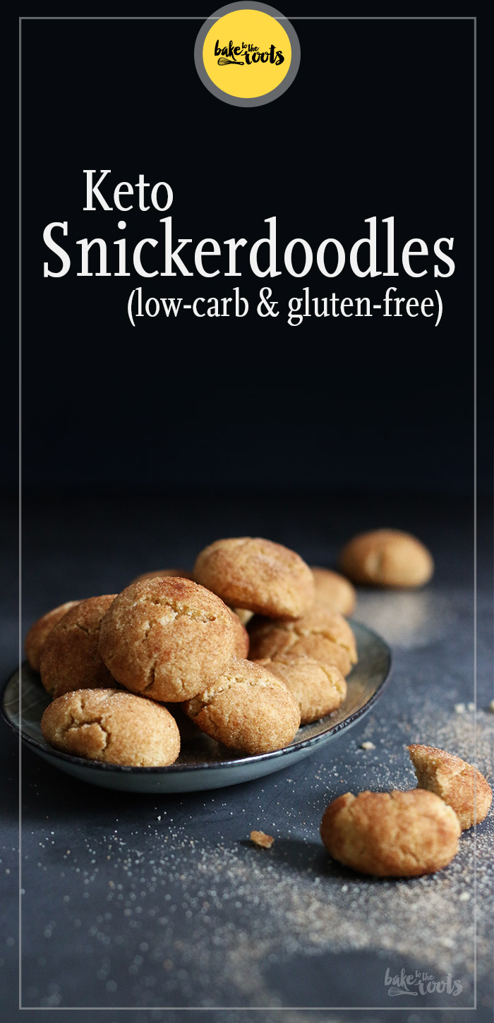 Keto Snickerdoodles   Bake to the roots