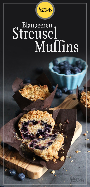 Blaubeeren Streusel Muffins | Bake to the roots