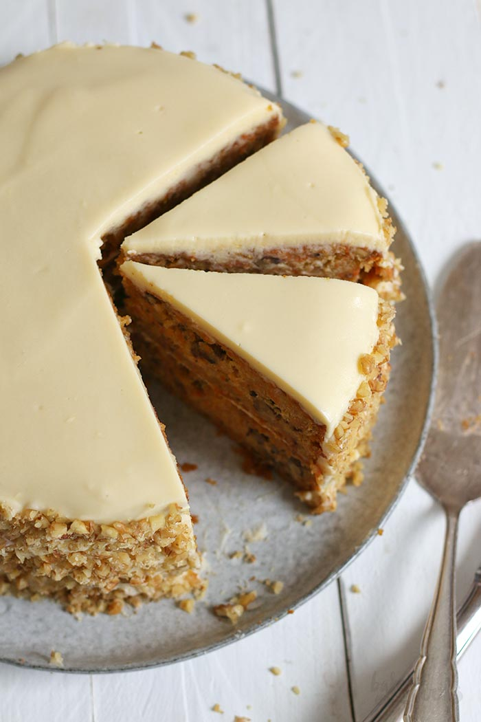 Classic Carrot Cake | Bake to the roots