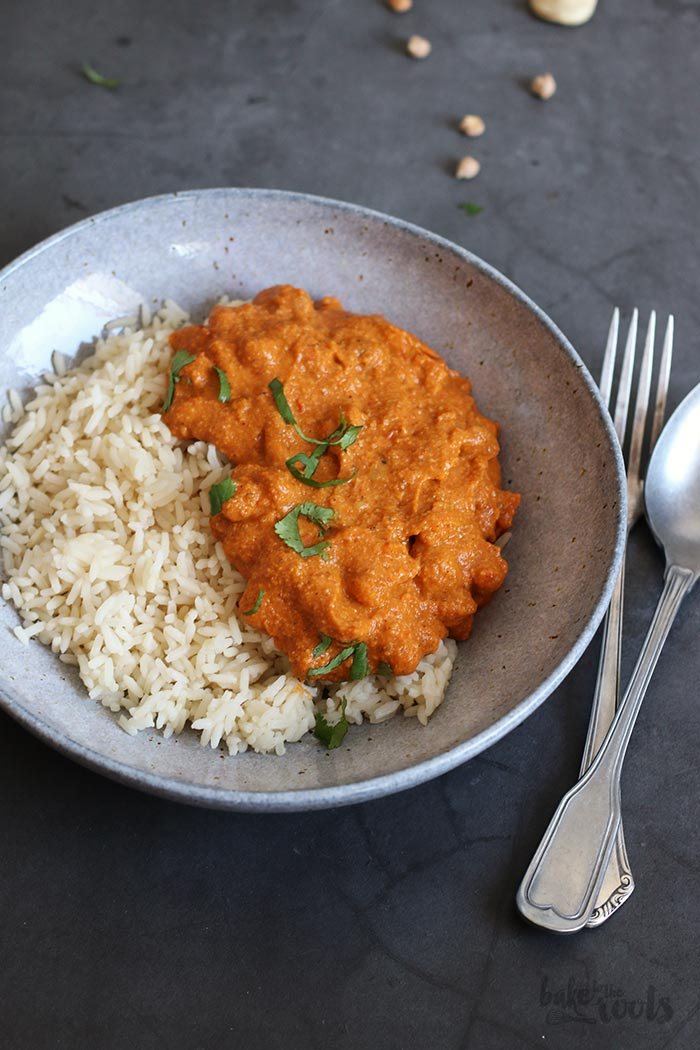 Vegan Chickpea Tikka Masala | Bake to the roots