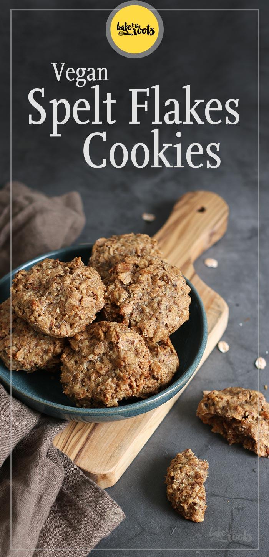 Vegan Spelt Flakes Cookies Bake To The Roots