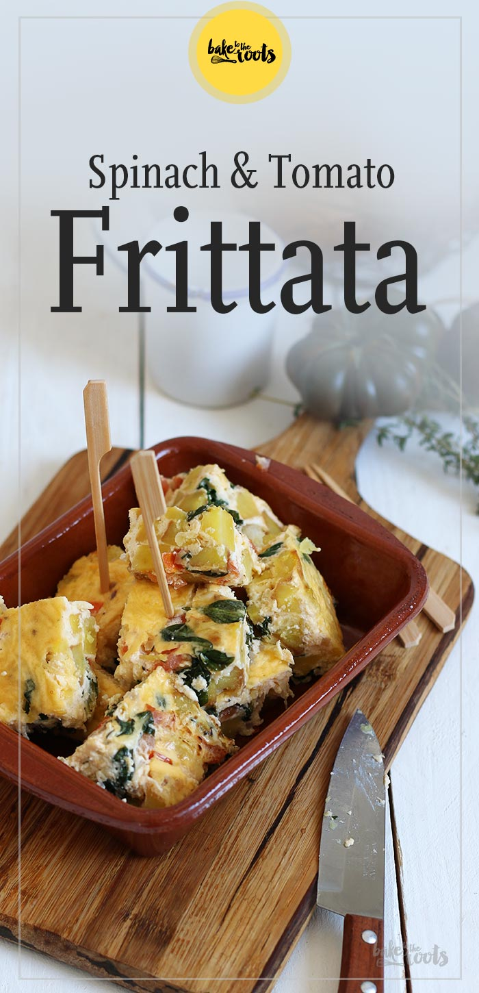 Spinach & Tomato Frittata | Bake to the roots