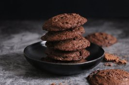 Butterkeks Chocolate Chip Cookies | Bake to the roots