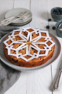 Einfacher Joghurt Beeren Kuchen   Bake to the roots