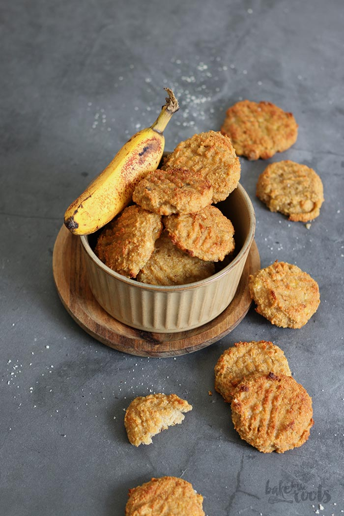 Peanut Butter Banana Bread Cookies | Bake to the roots