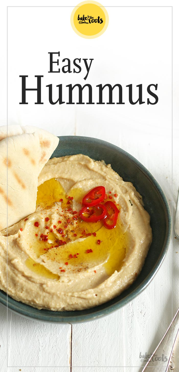 Easy Hummus | Bake to the roots