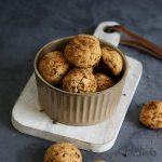 Easy Peanut Butter Cookies with Cocoa Nibs | Bake to the roots