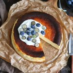 Basque Burnt Cheesecake | Bake to the roots