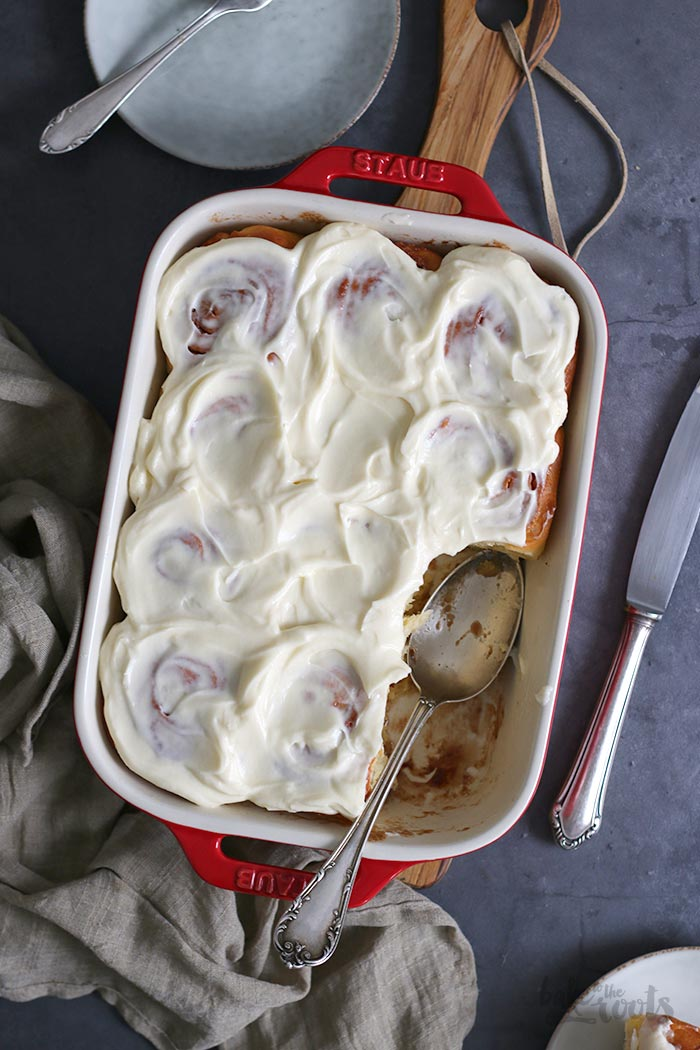 Overnight Cinnamon Rolls | Bake to the roots