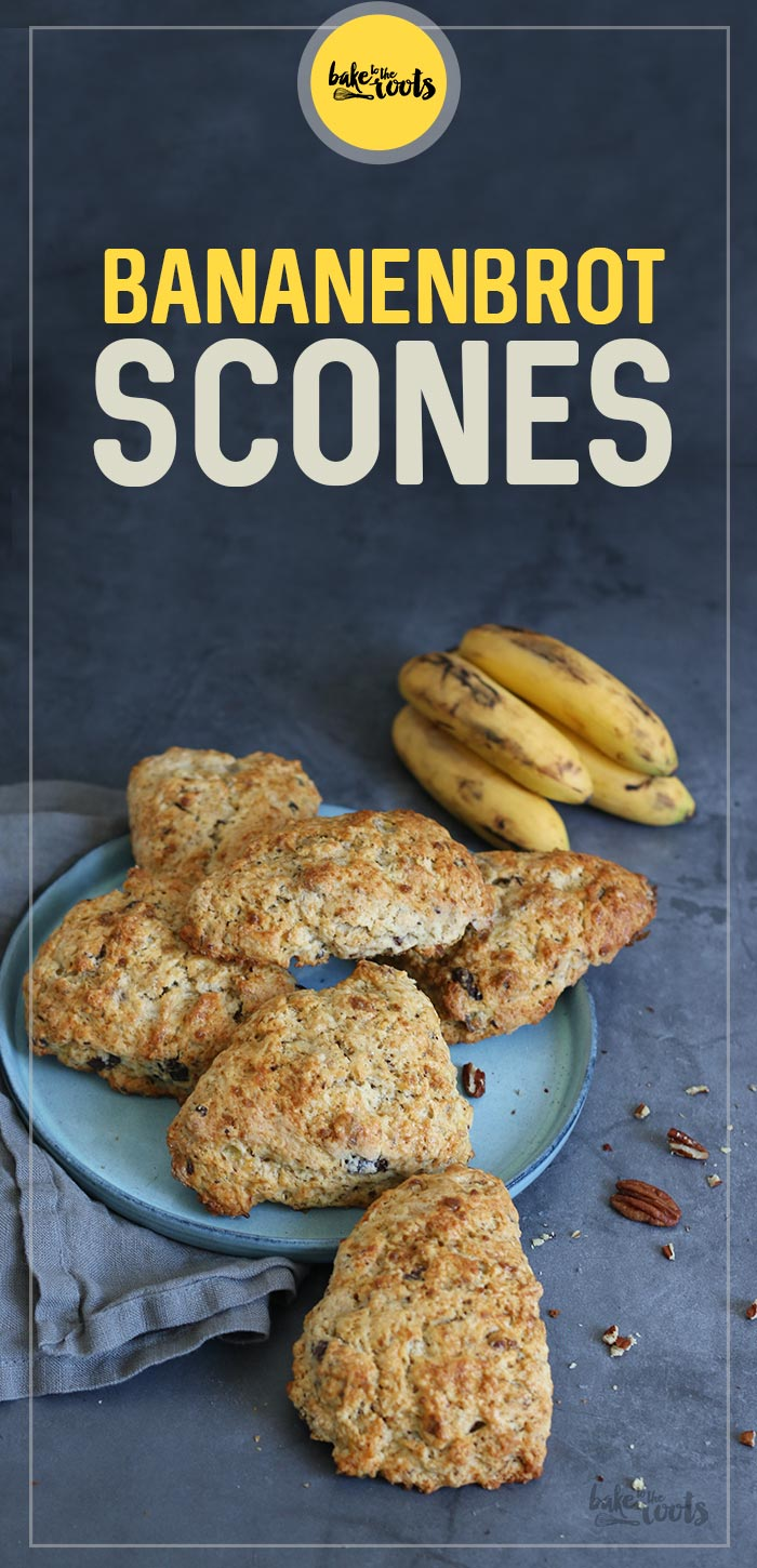 Bananenbrot Scones | Bake to the roots
