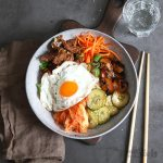 Korean Bibimbap with Pork | Bake to the roots