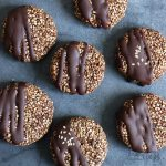Chocolate Date Sesame Cookies | Bake to the roots