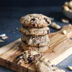 Peanut Chocolate Cookies | Bake to the roots