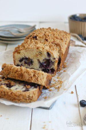 Blueberry Streusel Loaf Cake