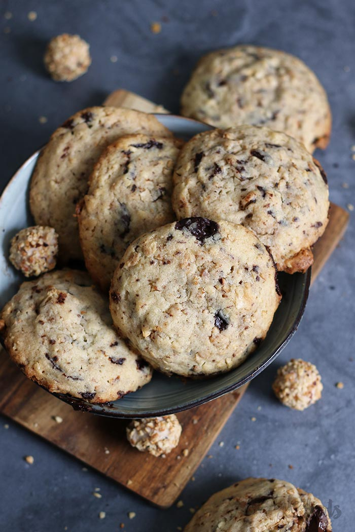 Giotto Chocolate Chip Cookies | Bake to the roots