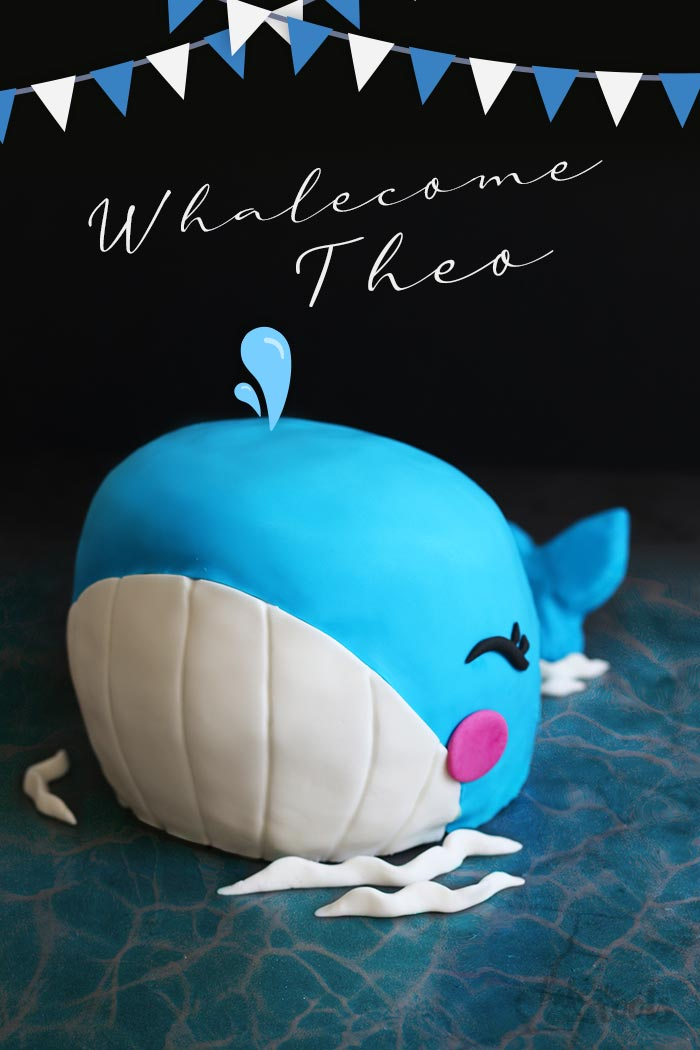 Baby Whale Cake | Bake to the roots