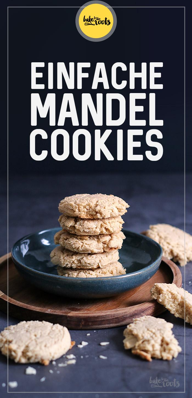 Einfache Mandel Cookies (glutenfrei) | Bake to the roots