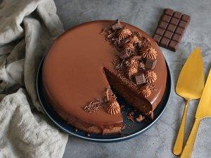 Der Perfekte Schokolade Cheesecake