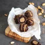 Peanut Butter Brownie Bombs | Bake to the roots