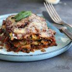 Vegan Veggie Lasagna (low-carb) | Bake to the roots