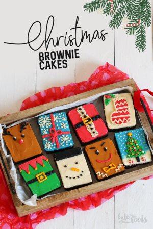 Xmas (XXL) Brownie Cakes