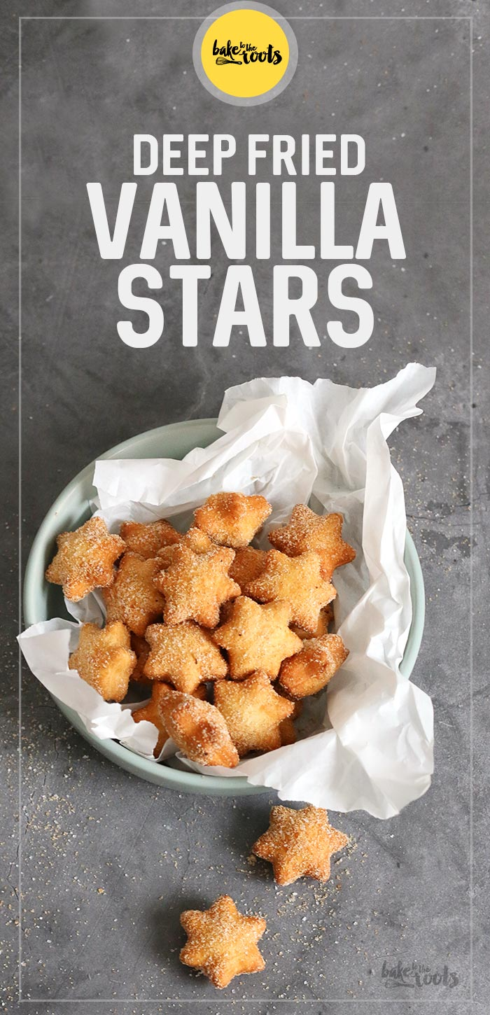 Deep Fried Vanilla Stars | Bake to the roots