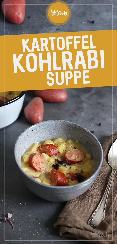 Kartoffel Kohlrabi Suppe | Bake to the roots