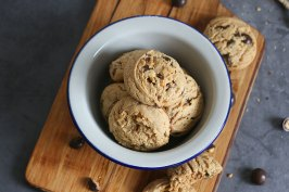 Peanut Butter (Chocolate) Cookies | Bake to the roots