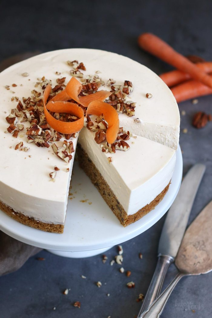 Carrot Cake Cheesecake | Bake to the roots