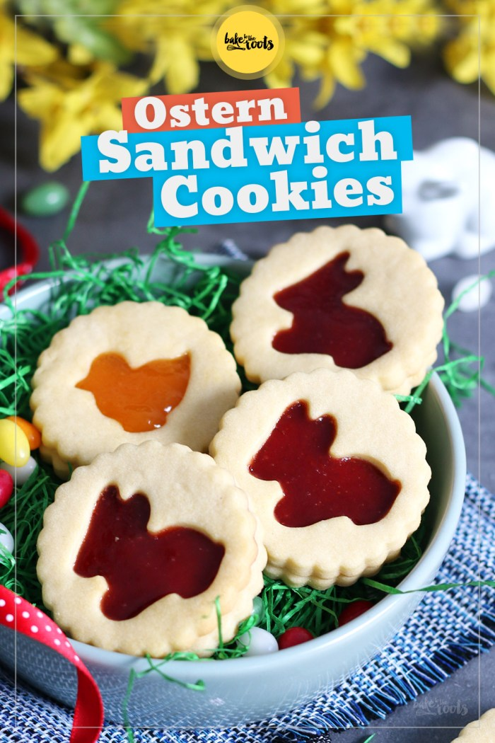 Ostern Sandwich Cookies | Bake to the roots