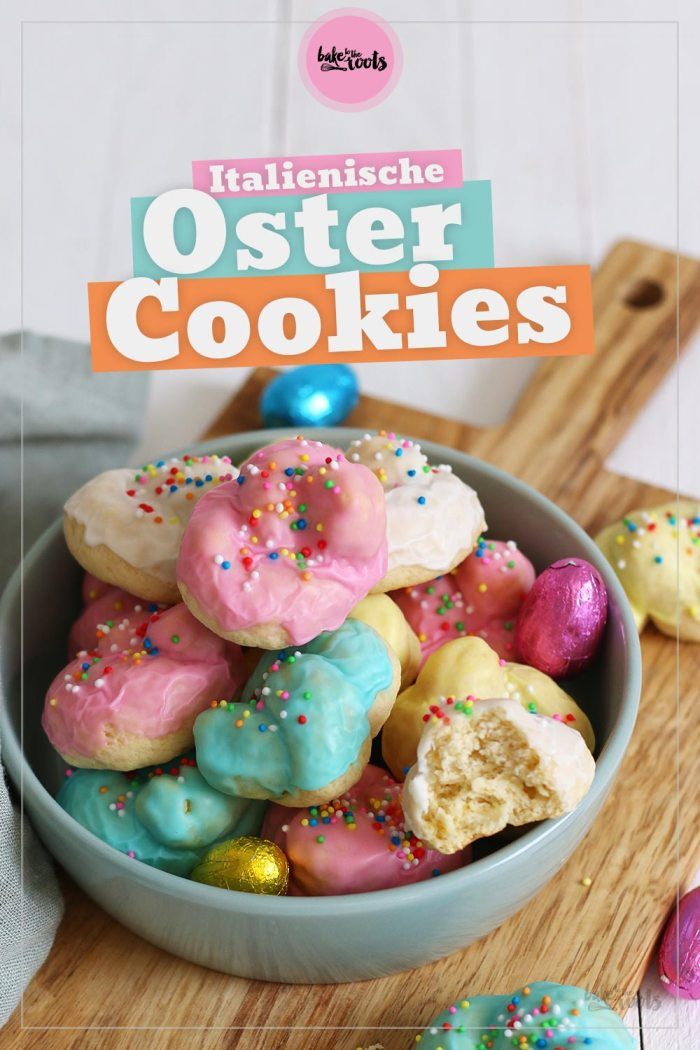 Italienische Oster Cookies | Bake to the roots