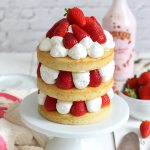 Japanese Strawberry Shortcake Torte | Bake to the roots