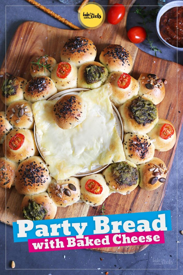Party Bread with Baked Cheese   Bake to the roots