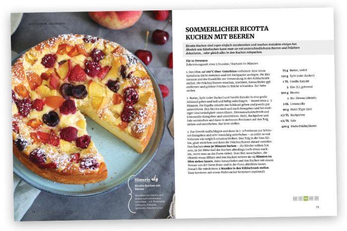 Bake Together Summer Edition 2021 E-Book – Beispiel Rezept