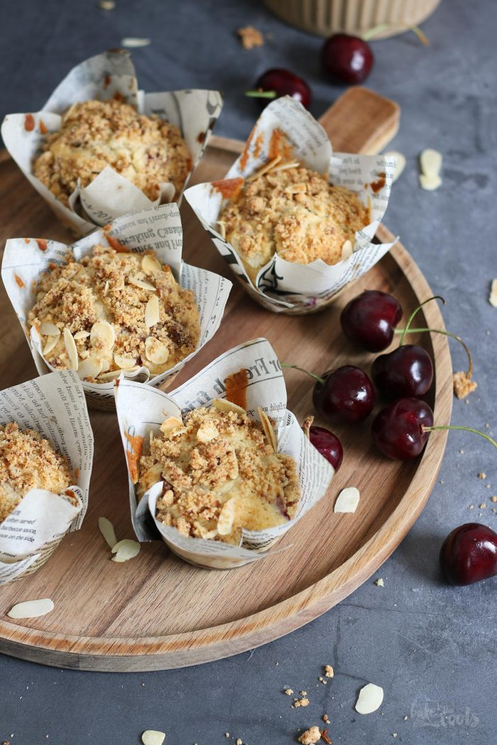 Cherry Streusel Muffins   Bake to the roots