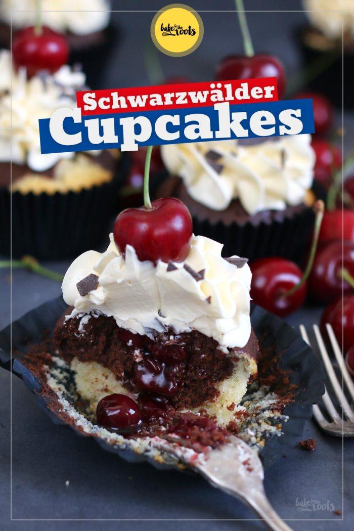 Schwarzwälder Kirsch Cupcakes   Bake to the roots