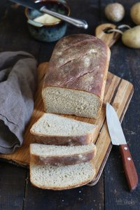 Einfaches Kartoffelbrot   Bake to the roots