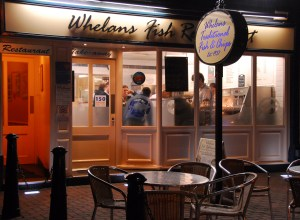 Whelans Fish & Chips. Visit our shop in Lytham St Annes, Lancashire.