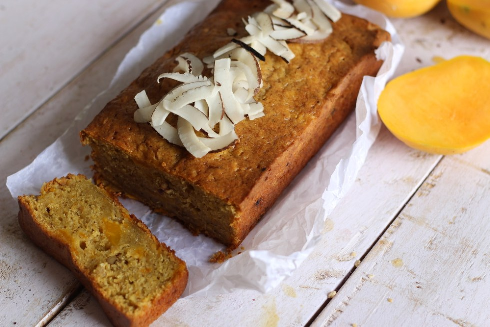gluten free mango bread