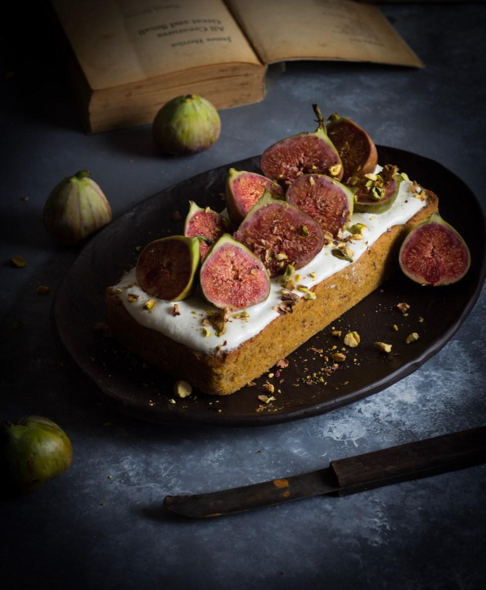 eggless pistachio cake