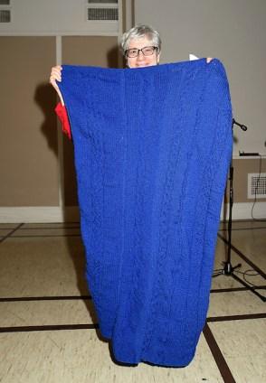 BAKG KAL Cable Knit Blanket