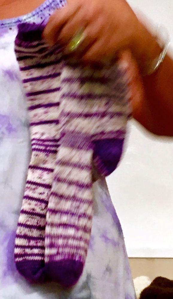 Loaded German Short Row Socks