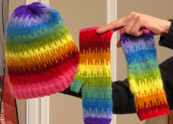 Drop Hat and Mittens