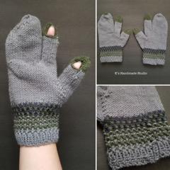 Moss Hunting Gloves (self-designed)