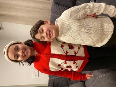 Ladybug Sweater (designed by granddaughter)