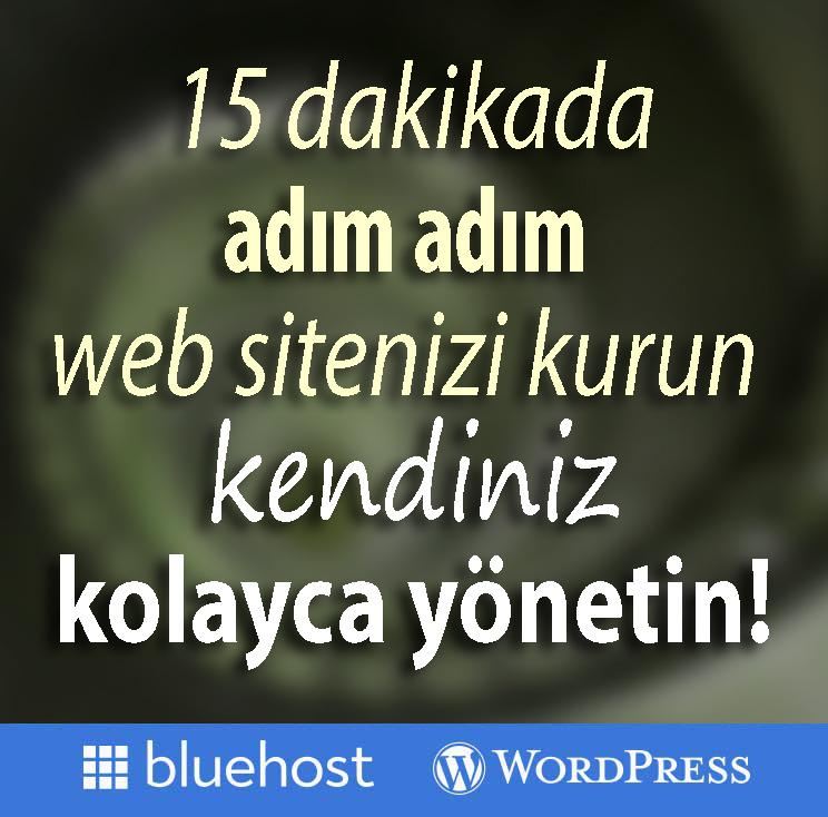 15 Dakikada Profesyonel Web Sitenizi Başlatın!