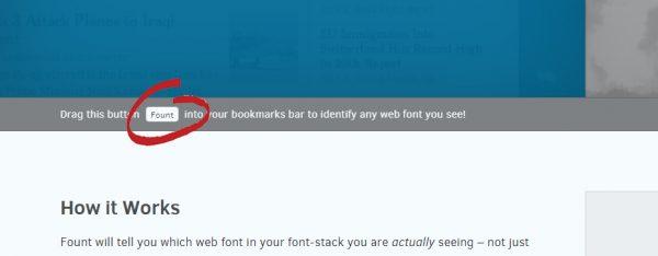 Fount yazı tipi bulma aracı