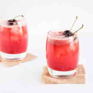 Cherry & Lemon Cocktails